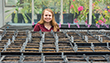 Plant, Soil Science and Agricultural Systems - College of Agriculture- students in a lab